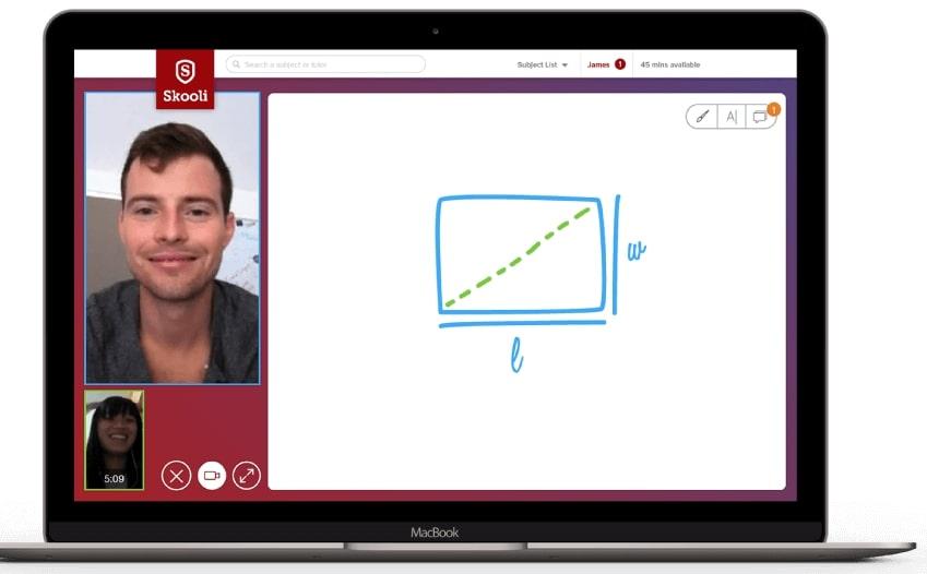 Skooli interface