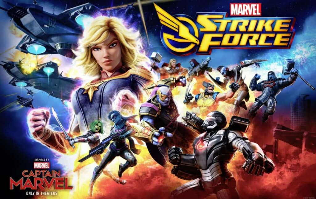 Marvel Strike force is highly talked about in reddit