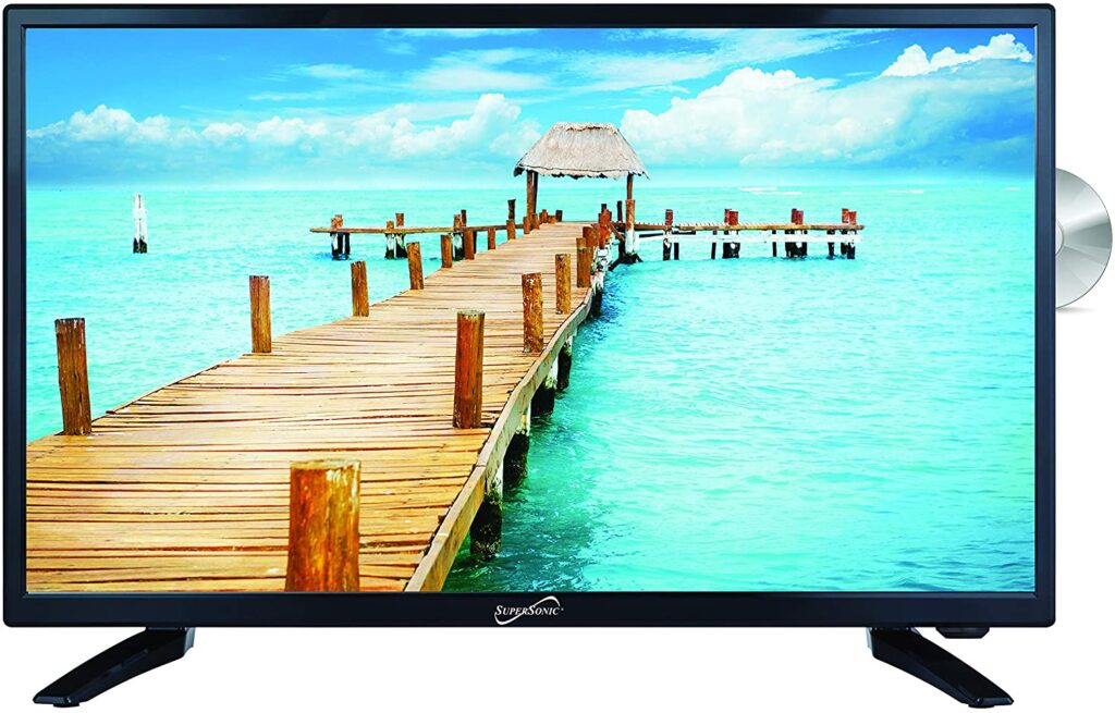 SuperSonic SC-2412 HDTV with DVD Player