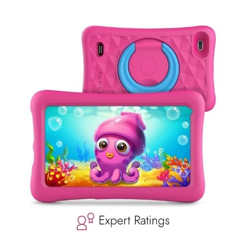 Vankyo MatrixPad Z1 Kids Tablet- Pink color