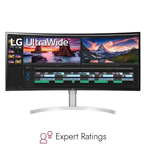 LG 38WN95C-W Ultrawide Curved Monitor