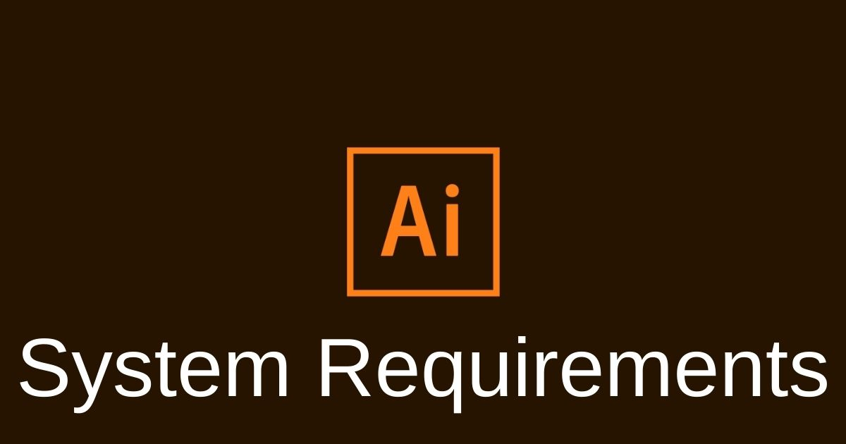 illustrator system requirements